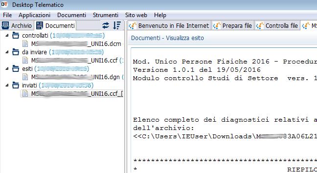 Delirio UNICO 2016 col software dell Agenzia delle Entrate / Sogei ...